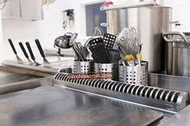 Membersihkan keluli tahan karat - cara membersihkan keluli tahan karat tanpa meninggalkan jejak