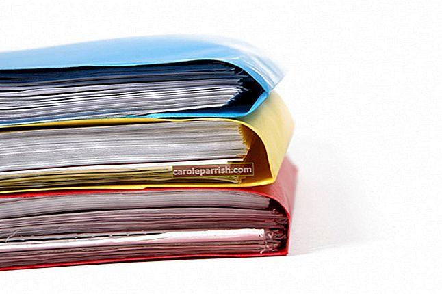 Kertas apa yang perlu disimpan dan berapa lama menyimpannya