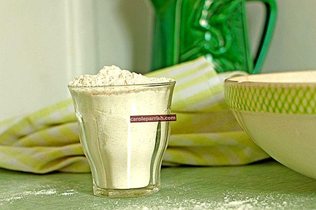 Wie man ohne Waage Butter, Öl, Mehl, Milch, Zucker oder Linsen wiegt