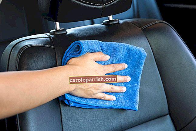 布製のカーシートを掃除する方法